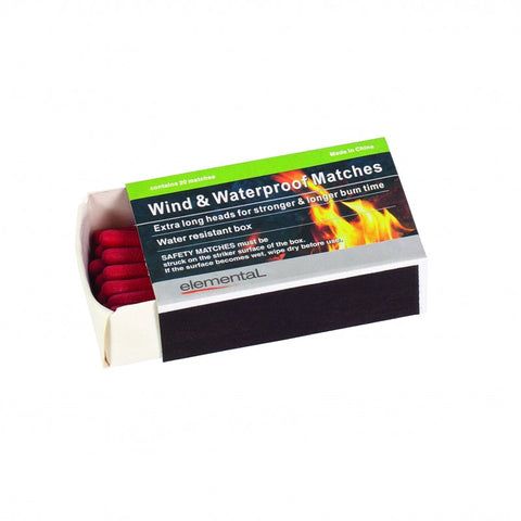 MATCHES WIND/WATER PROOF 2PK