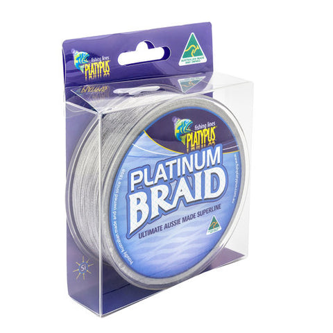 BRAID PLATINUM 10LB 300YD PLAT