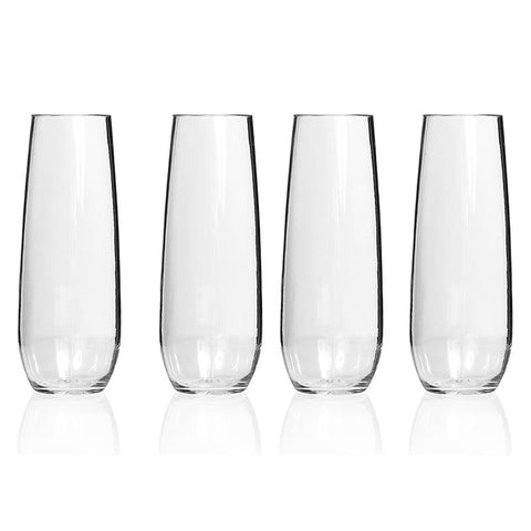GLASS S/LESS CHAMP TRITAN 4PK