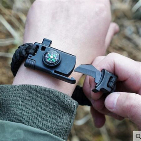 Military Paracord Survival Bracelet