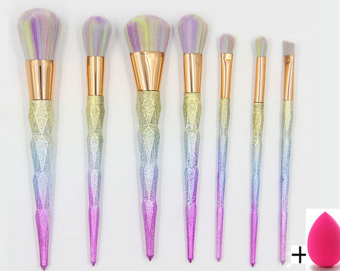 Magical Unicorn Professional Makeup Brush Set - Republic Pa Sat