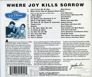Where Joy Kills Sorrow CD Bonus Disc version