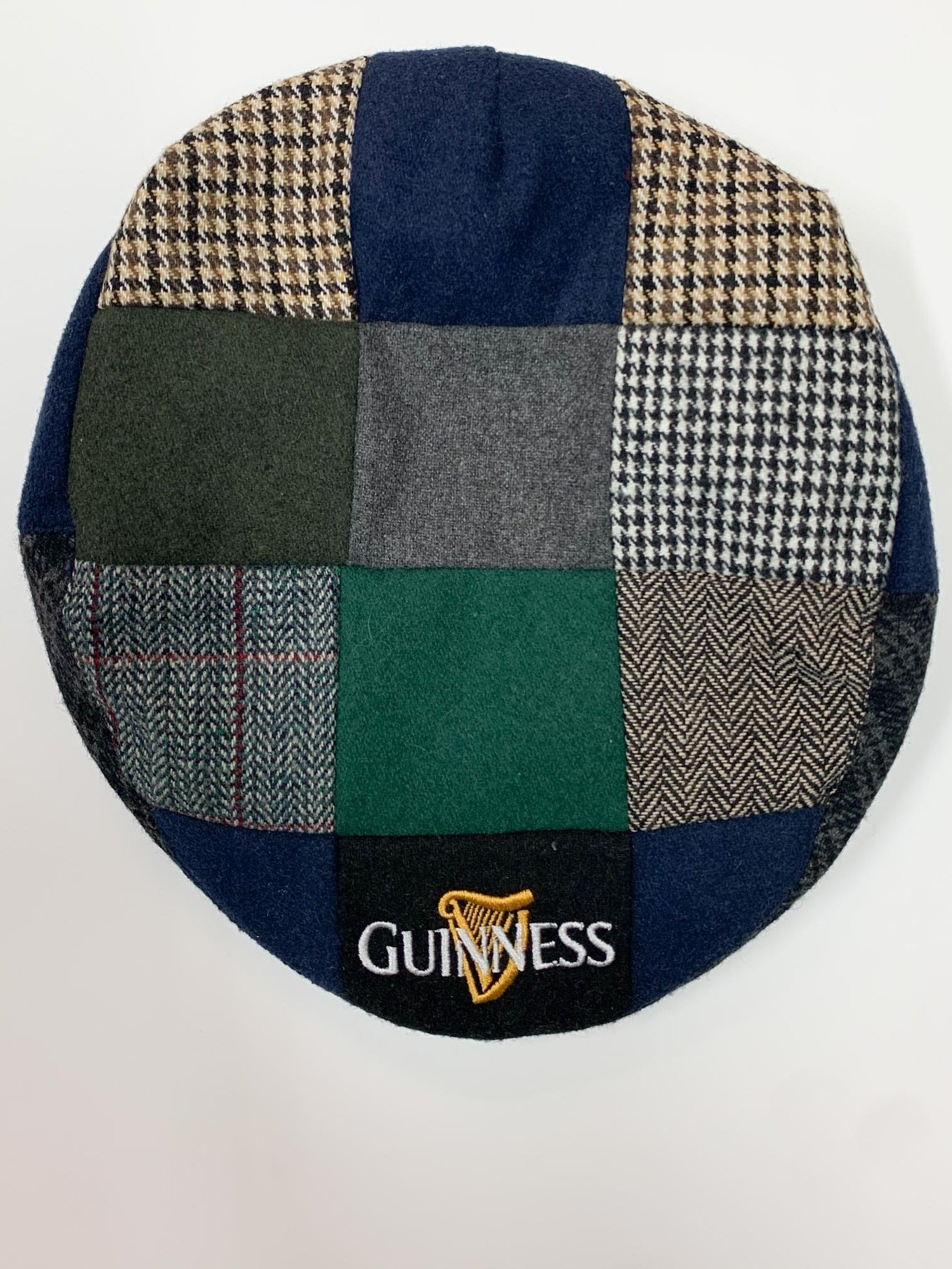 GUINESS PATCHWORK FLAT CAP
