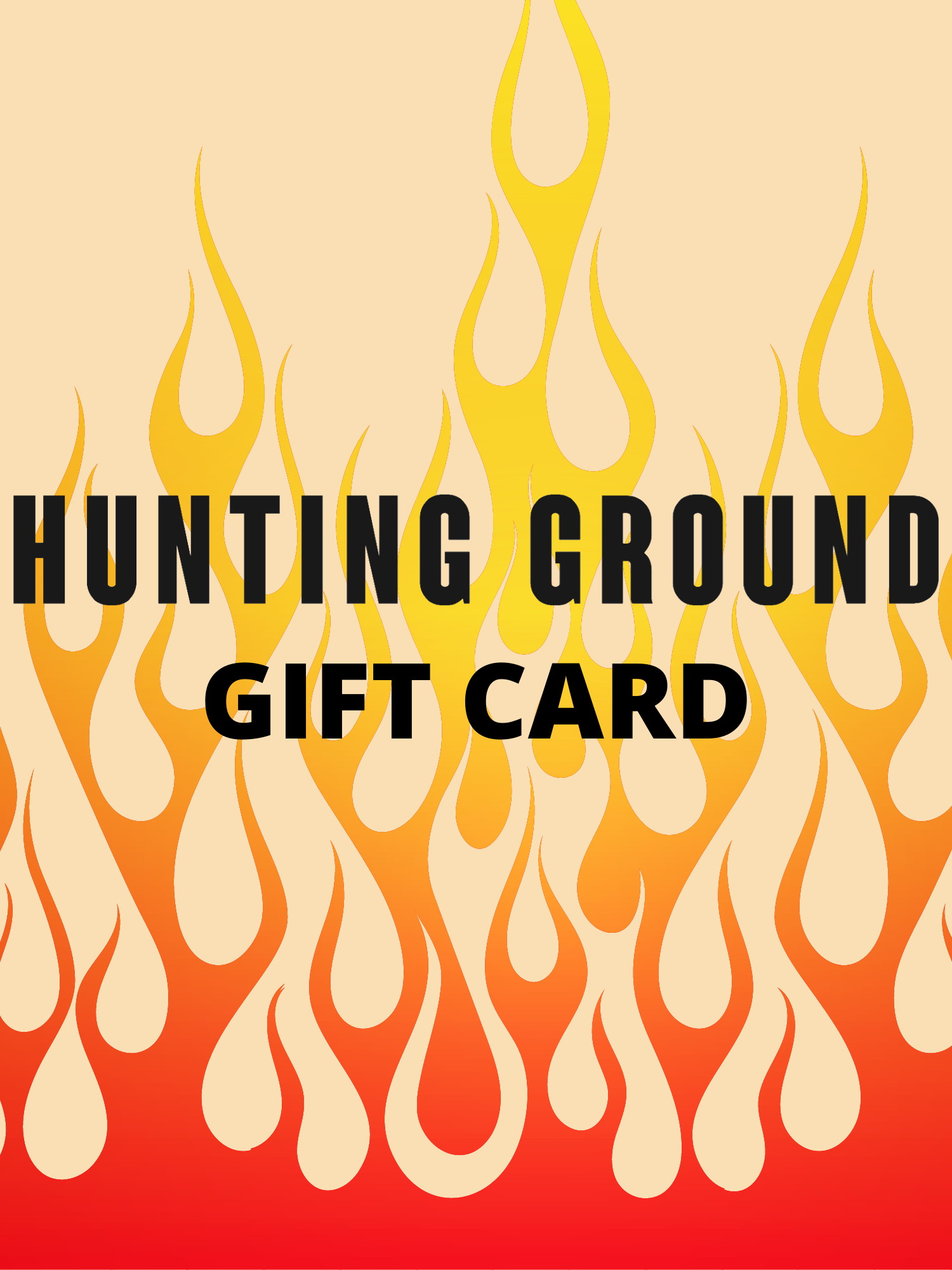 HUNTING GROUND GIFT CARD