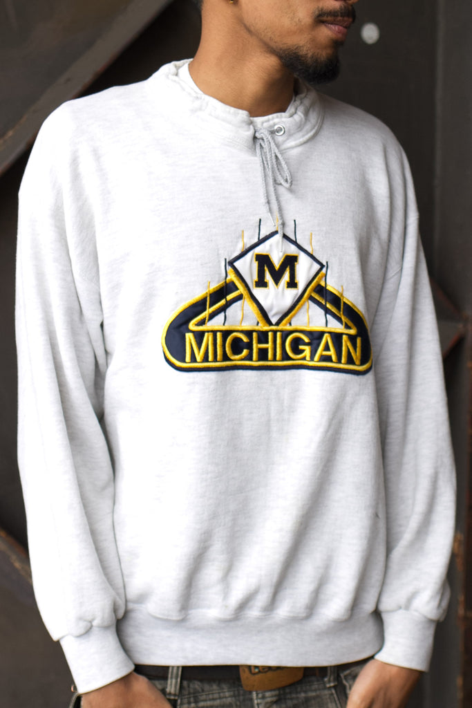 Vintage MICHIGAN CREW NECK