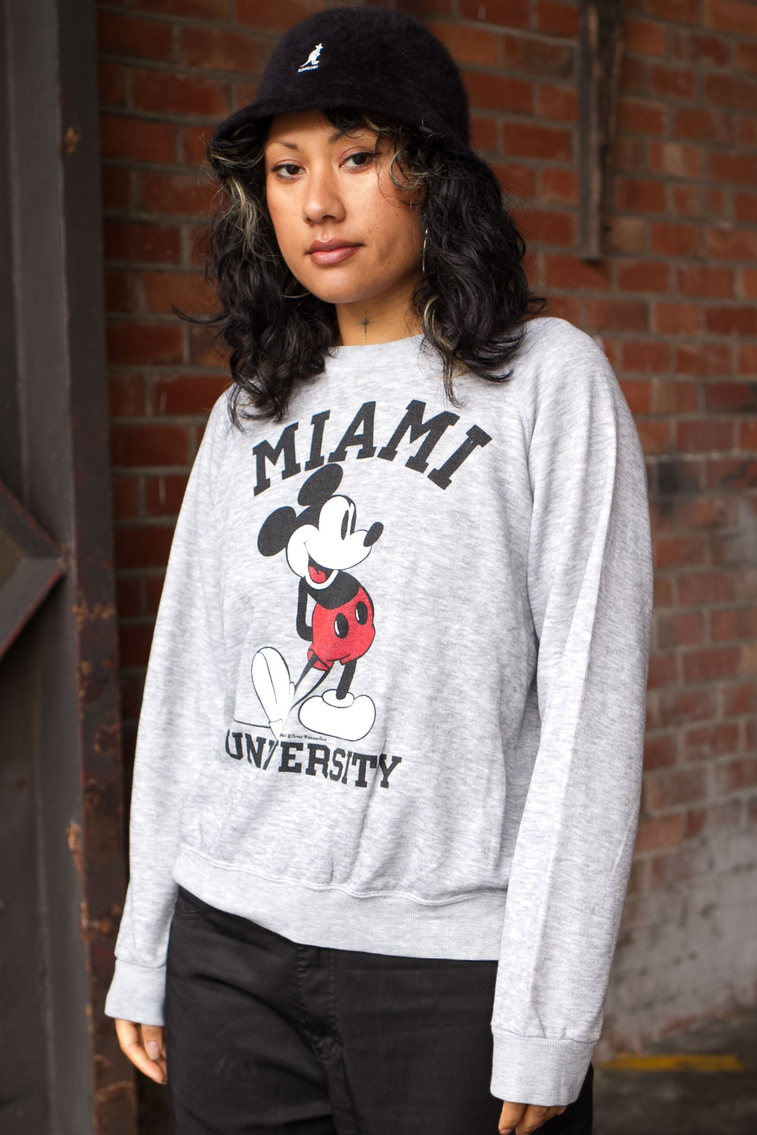 MIAMI UNIVERSITY DISNEY CREWNECK