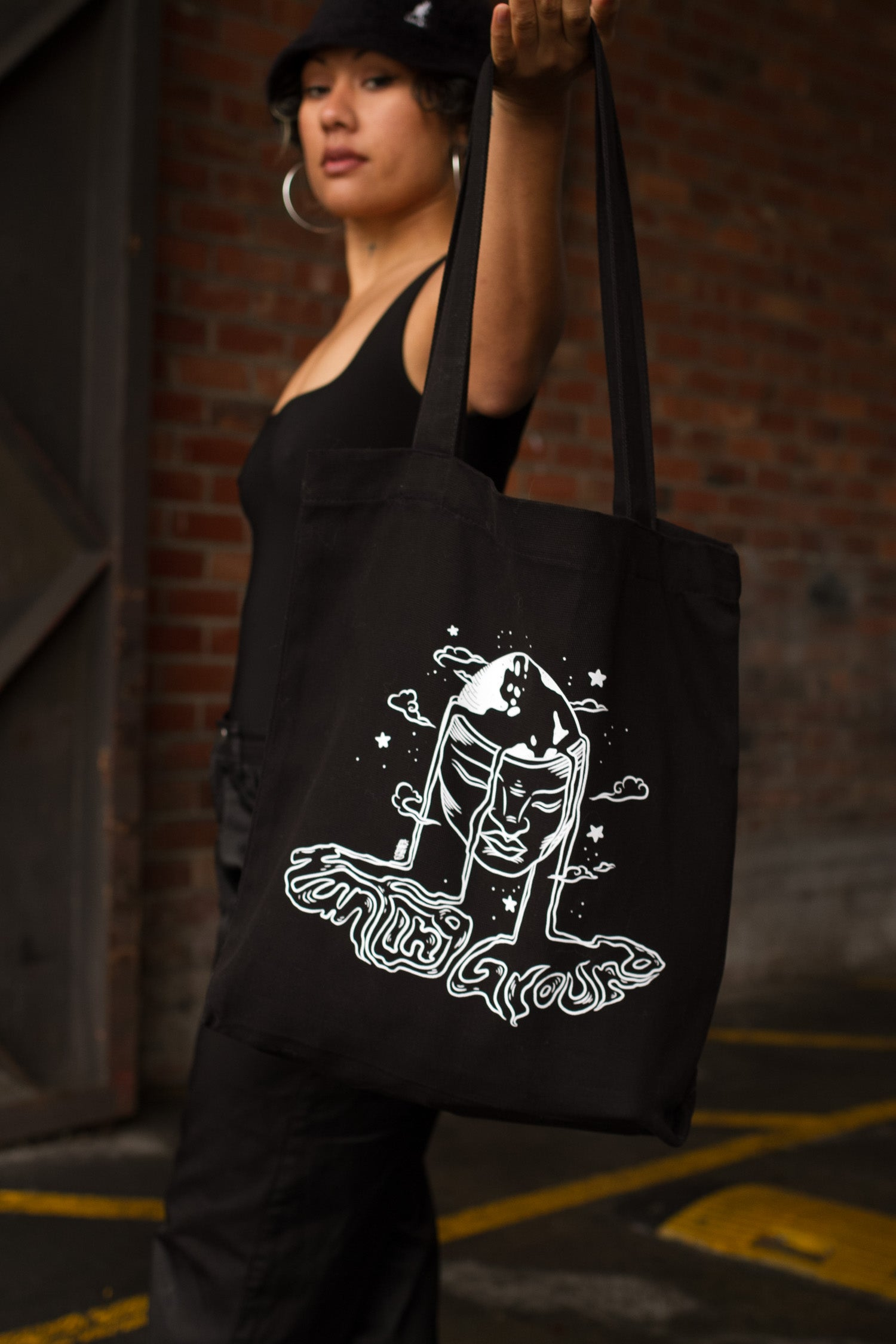 PLANET HUNTING GROUND TOTE BAG