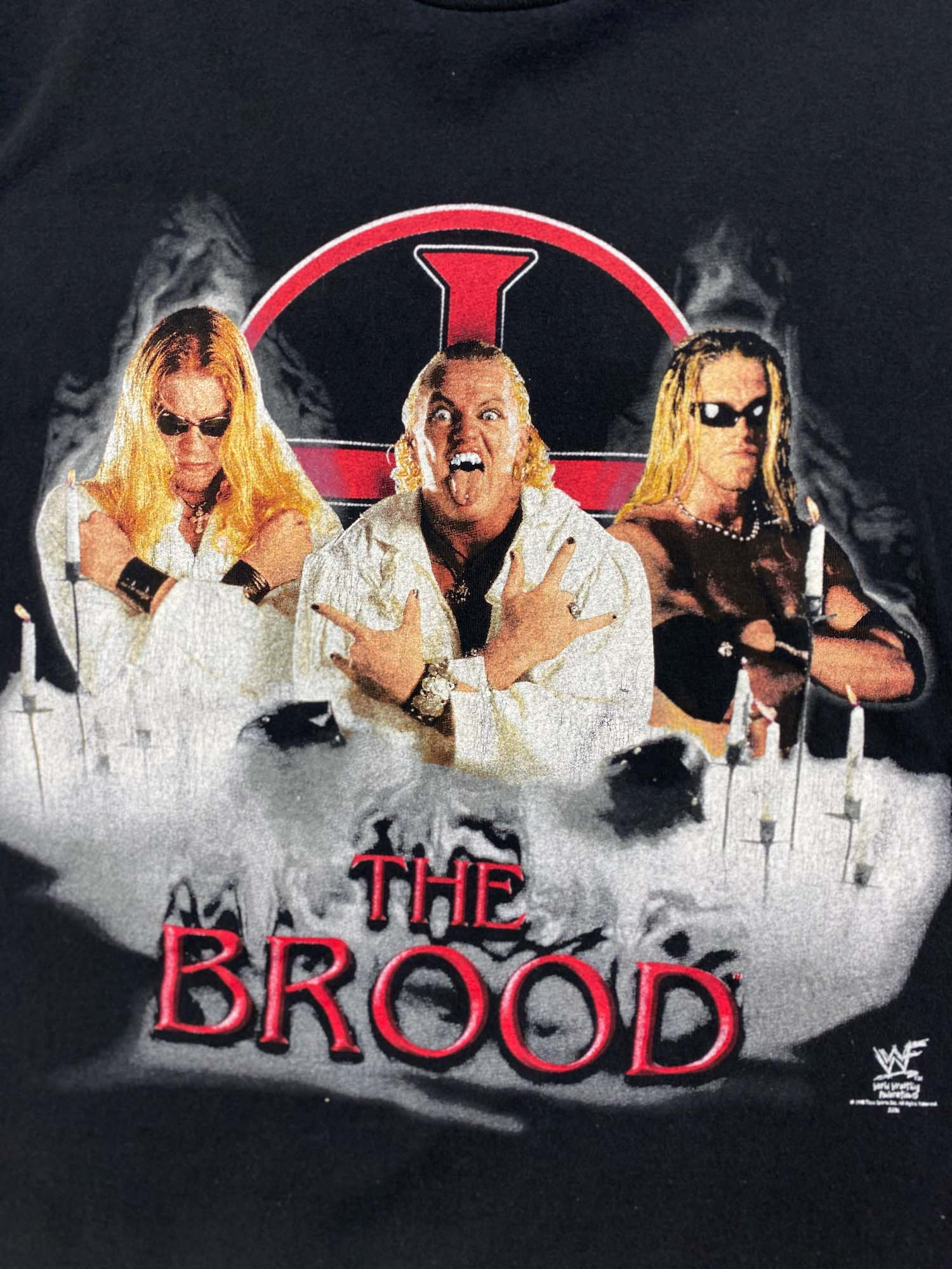 THE BROOD WWF WRESTLING TEE