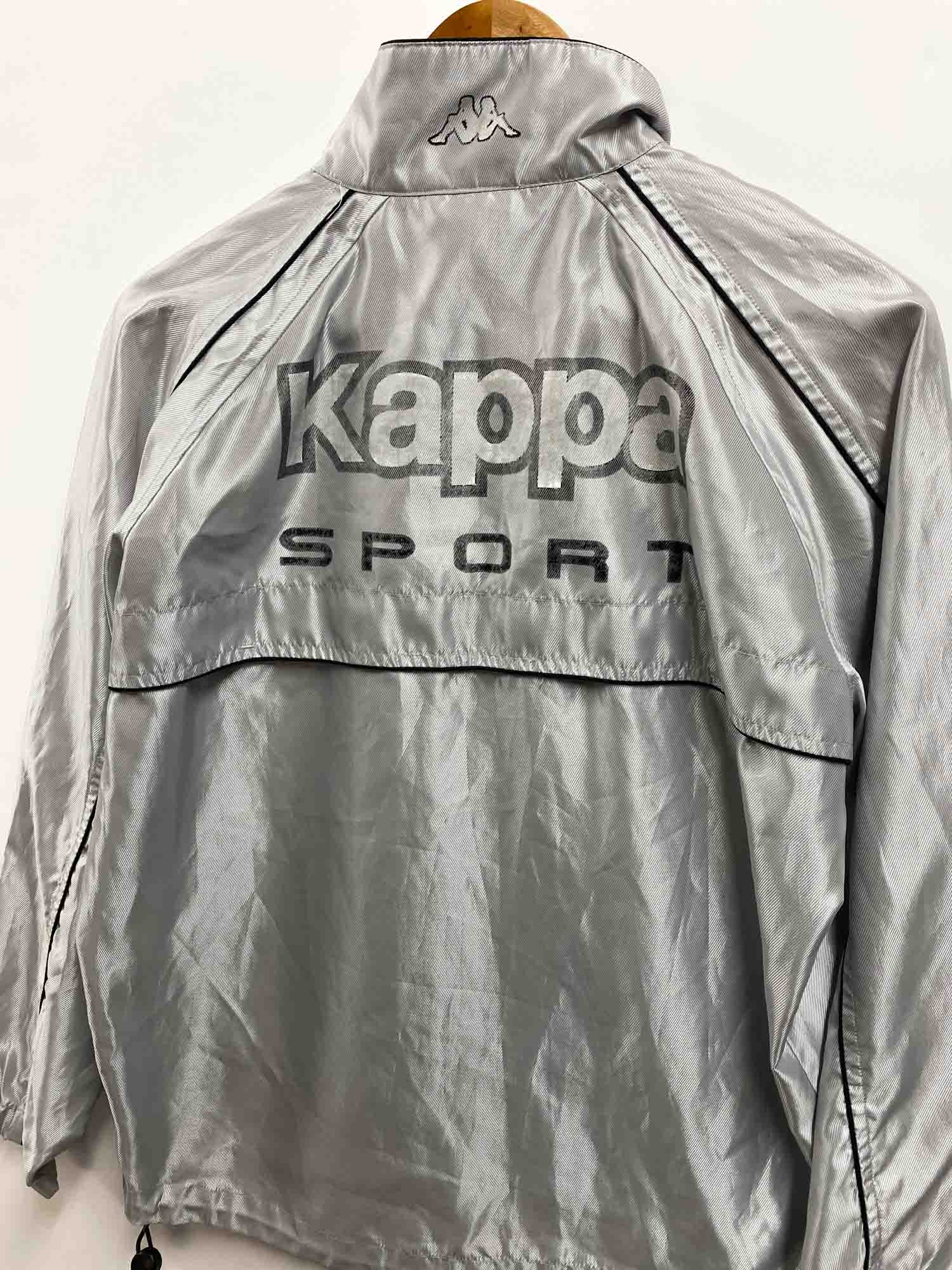 VINTAGE REFLECTIVE KAPPA WINDBREAKER JACKET