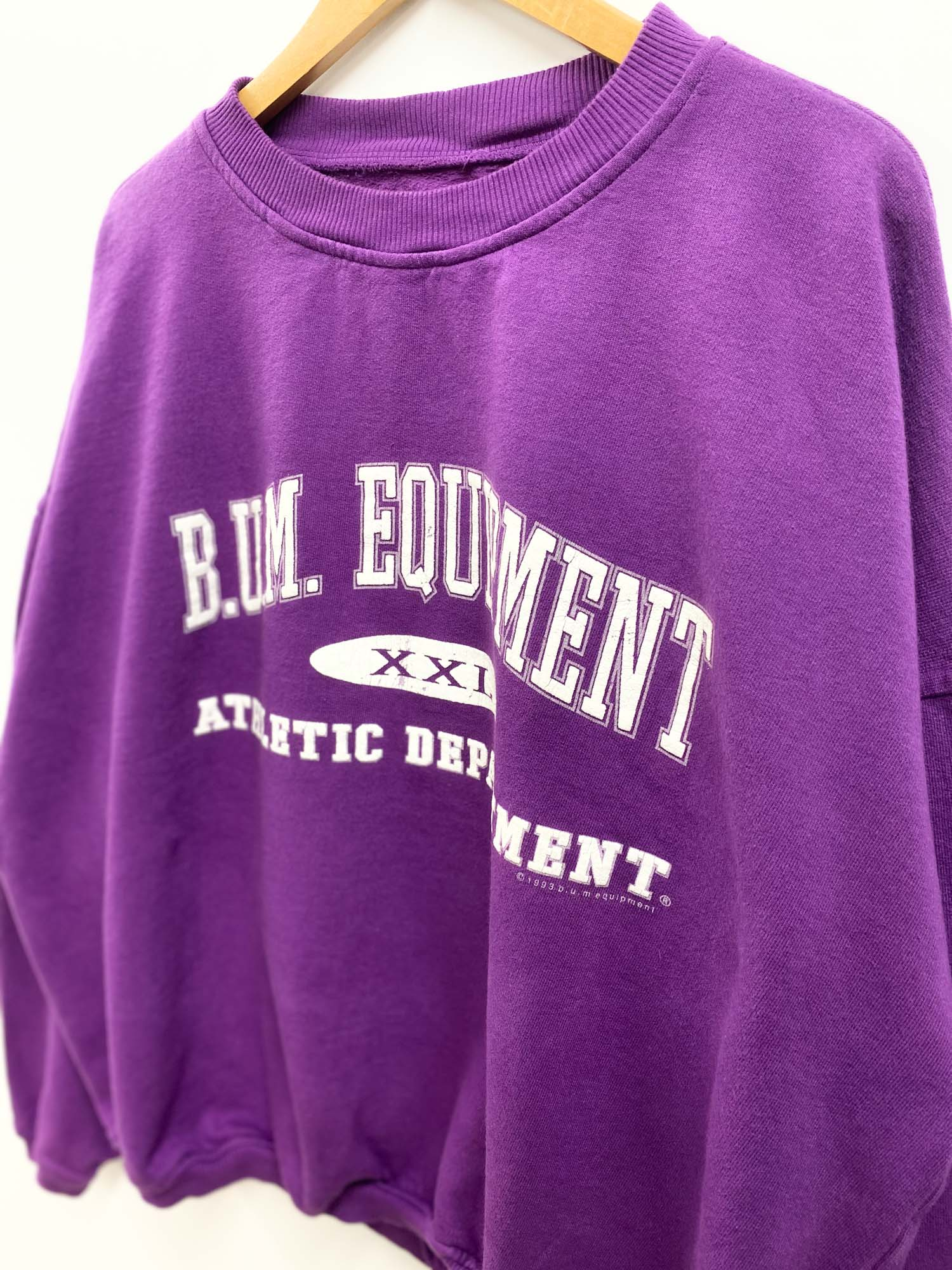 VINTAGE B.U.M EQUIPMENT CREWNECK