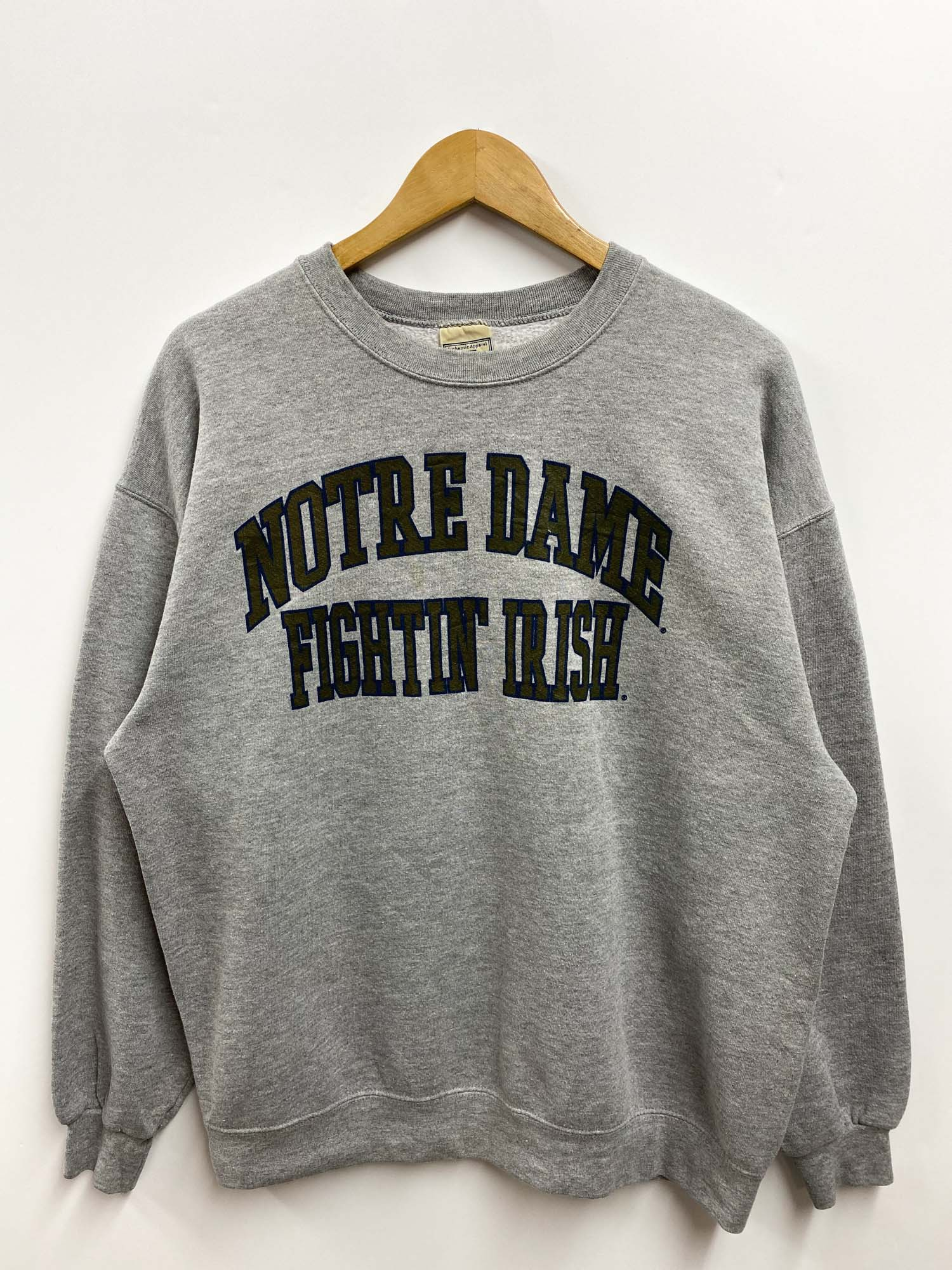 Vintage LEE Notre DAME FIGHTIN' IRISH CREWNECK