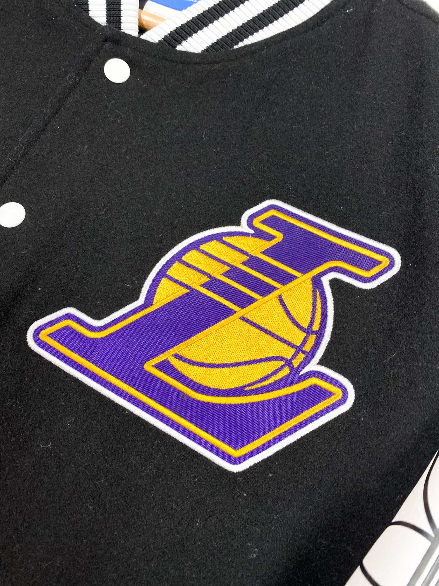 Adidas Lakers Bomber Jacket