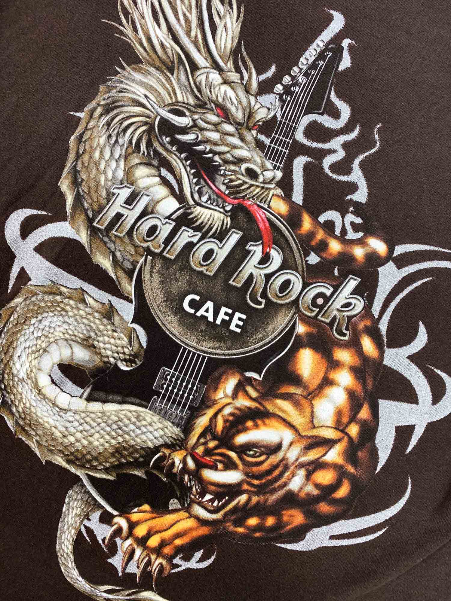 VINTAGE HARD ROCK DRAGON TEE