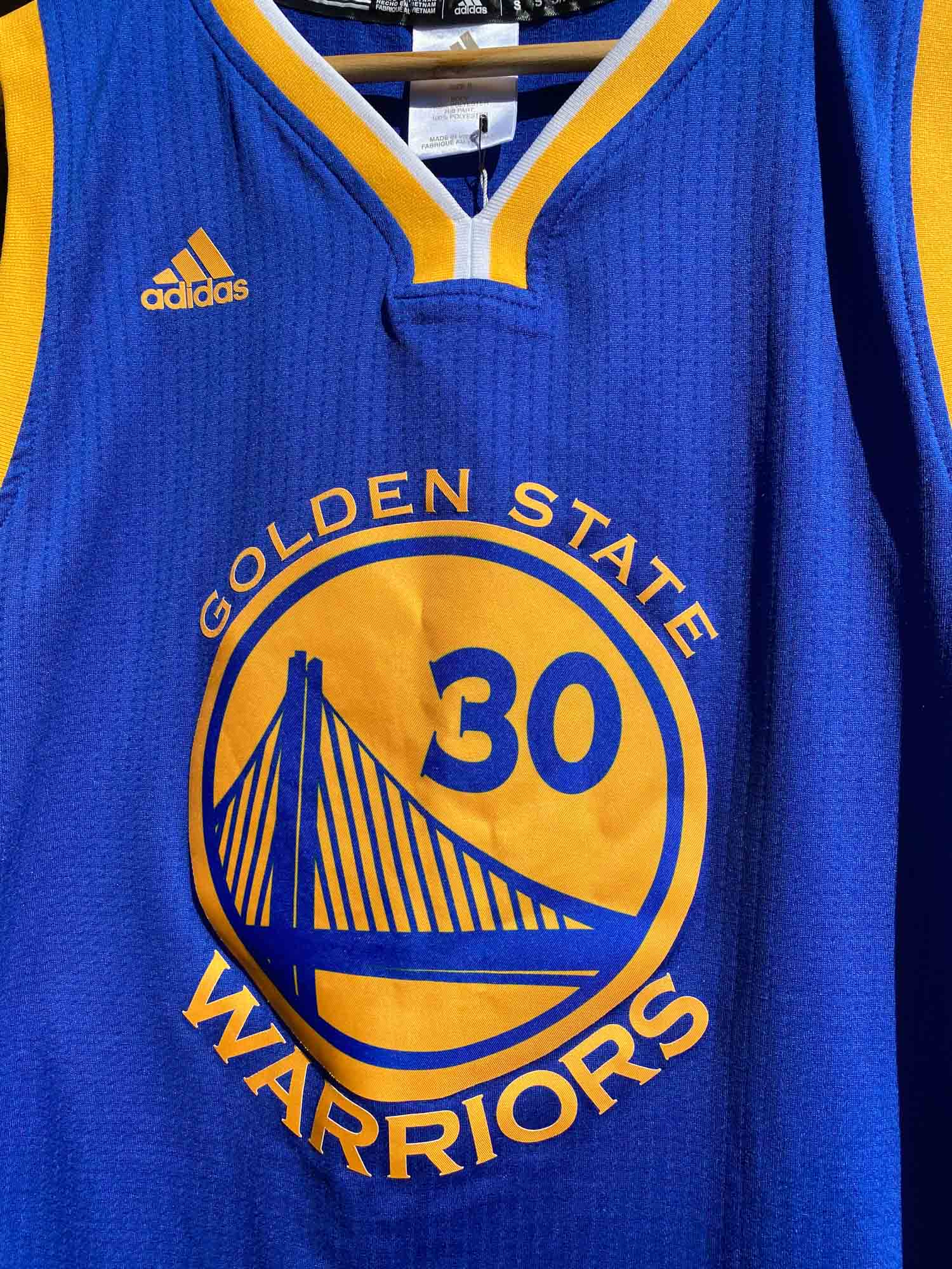 GOLDEN STATE WARRIORS BASKETBALL SINGLET