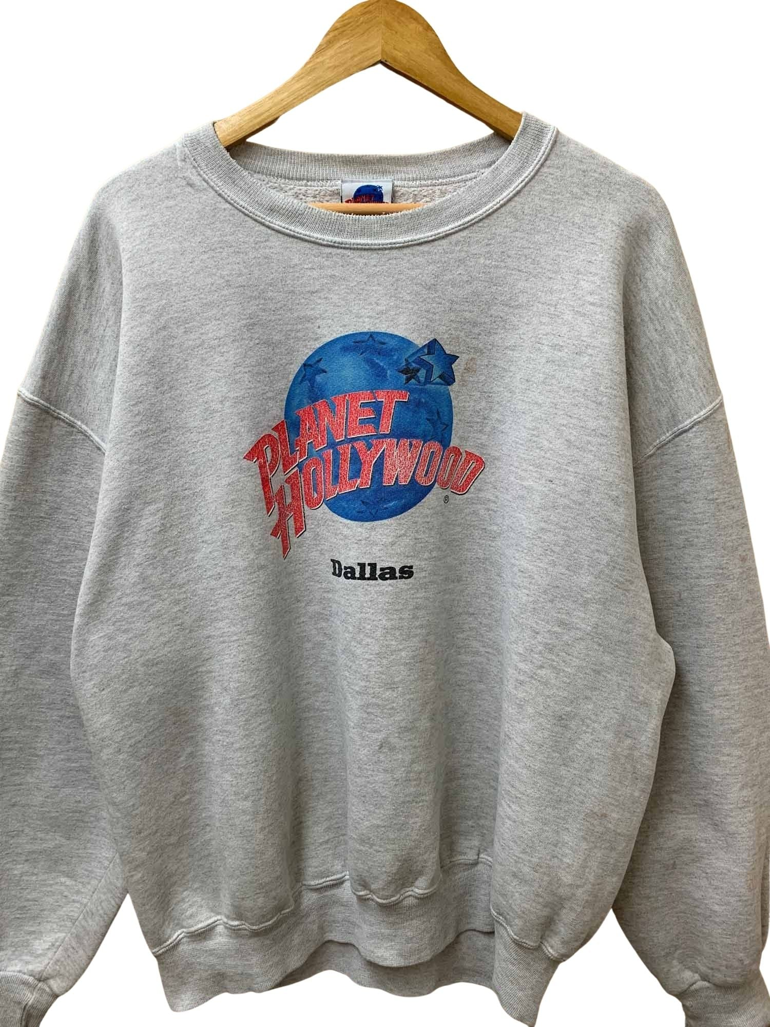 VINTAGE PLANET HOLLYWOOD CREWNECK