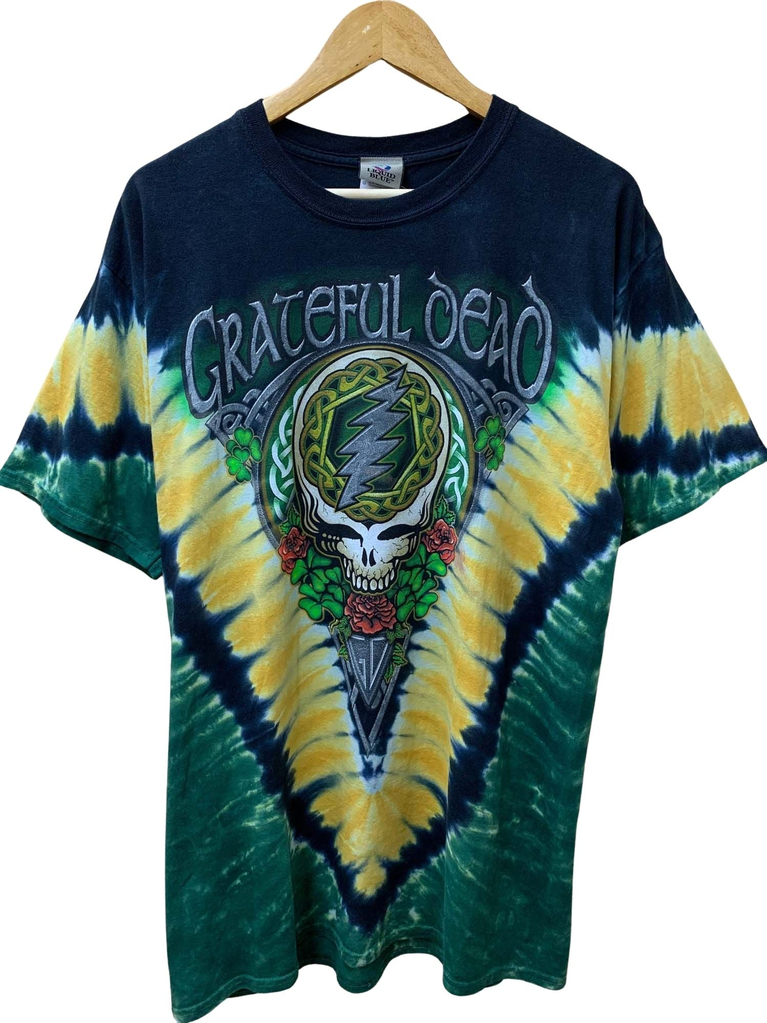 GRATEFUL DEAD TIE DYE BAND TEE