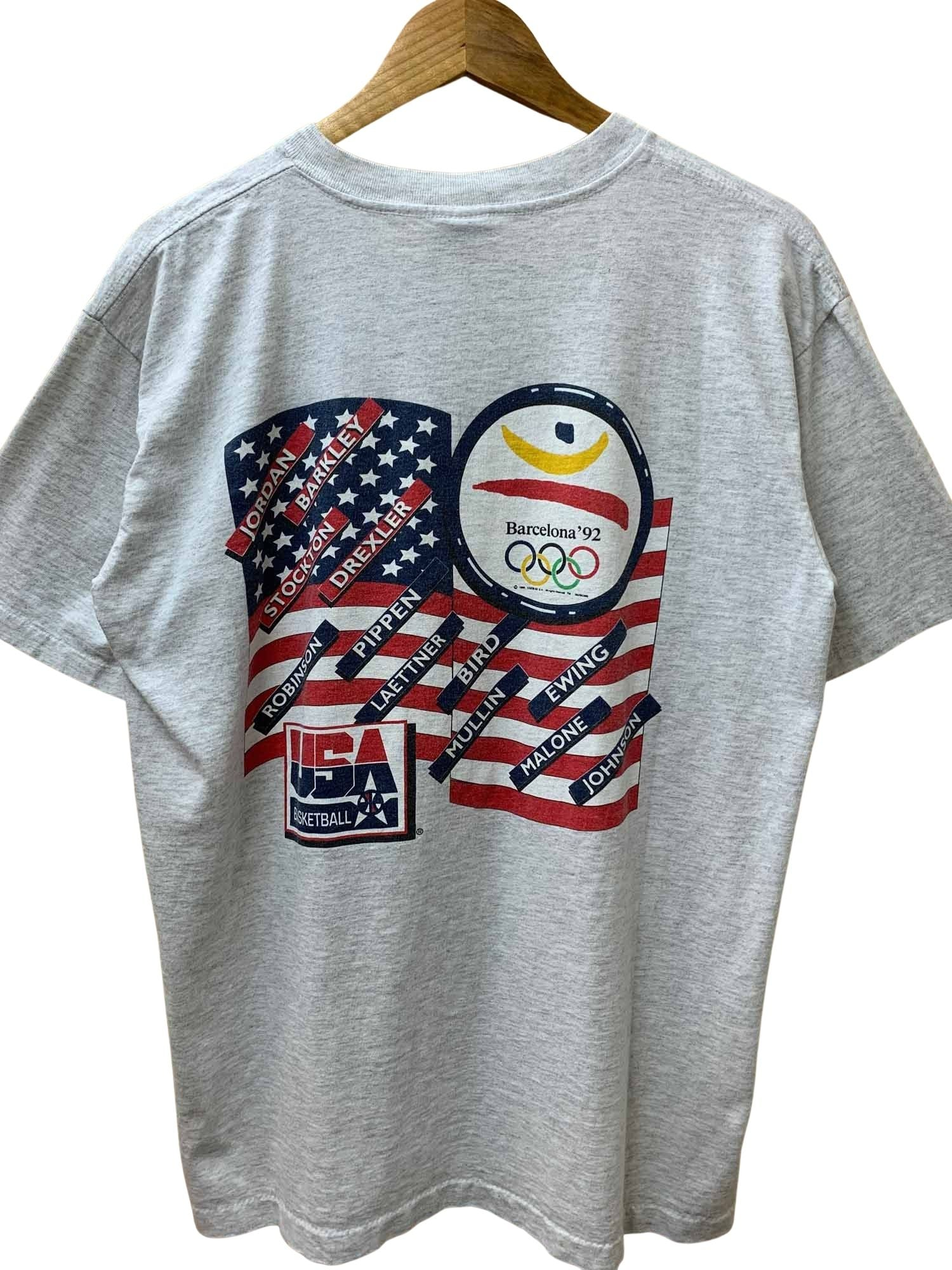 1992 USA DREAM TEAM caricature TEE