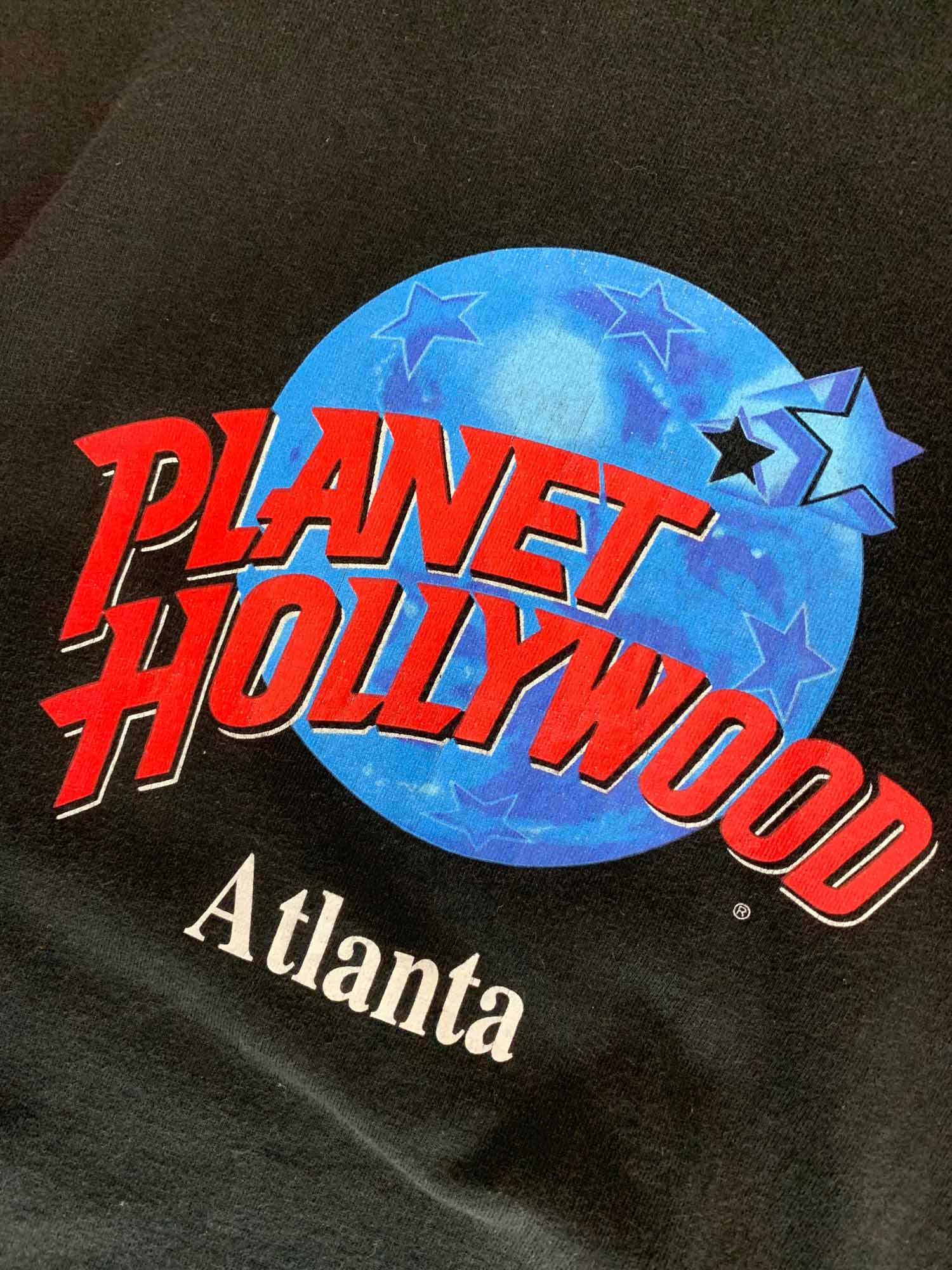 VINTAGE PLANET HOLLYWOOD ATLANTA TEE