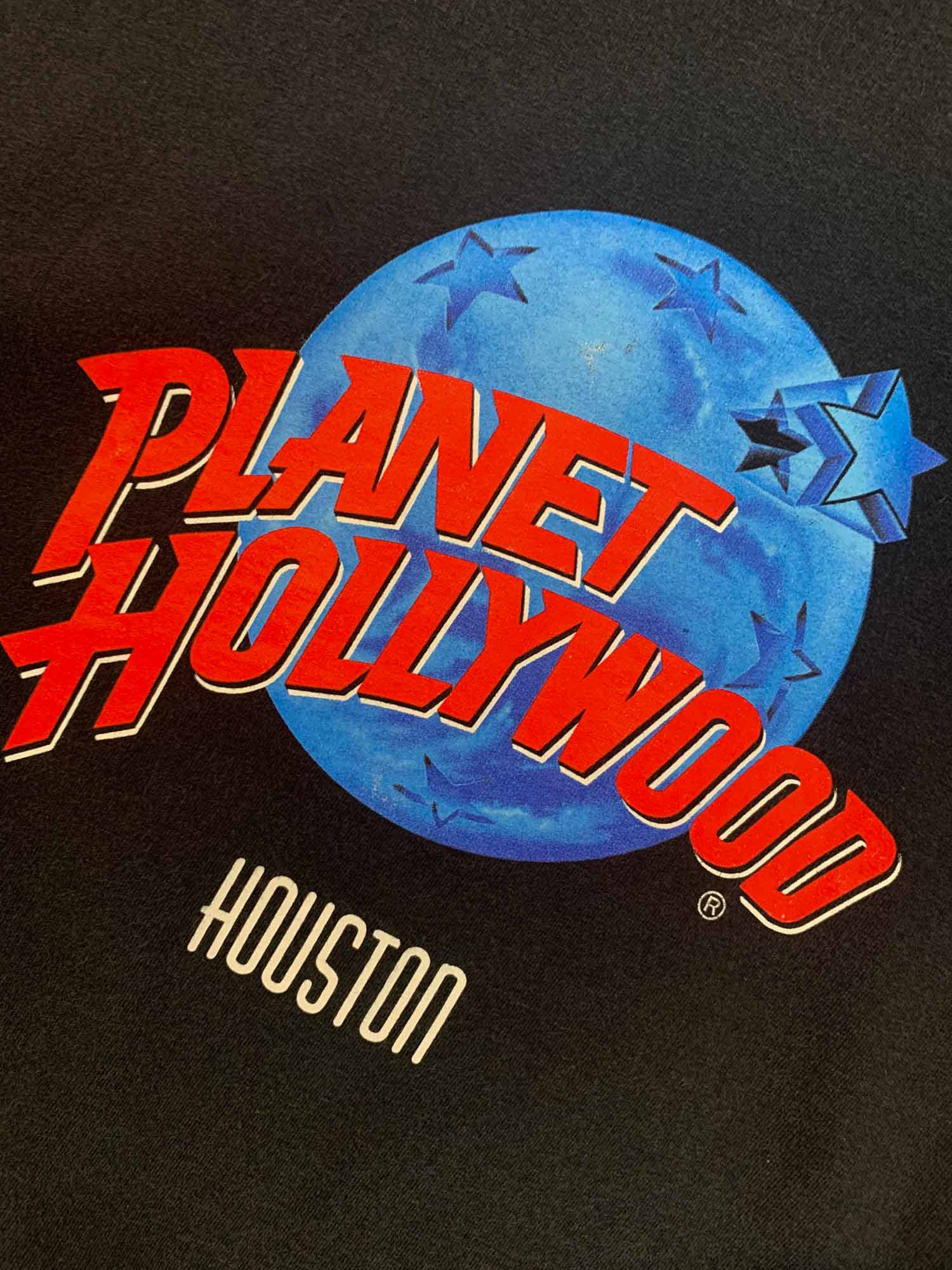 VINTAGE PLANET HOLLYWOOD HOUSTON TEE