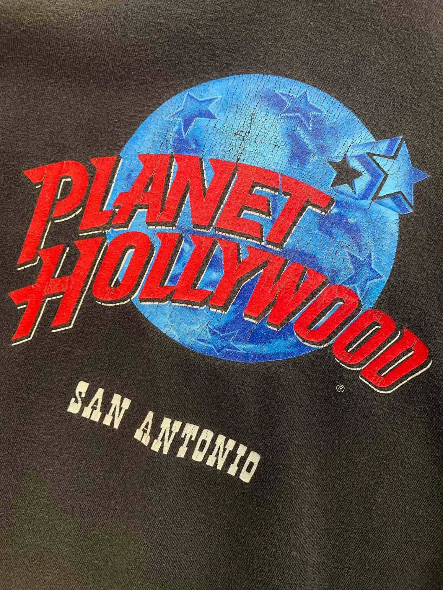 VINTAGE PLANET HOLLYWOOD SAN ANTONIO TEE