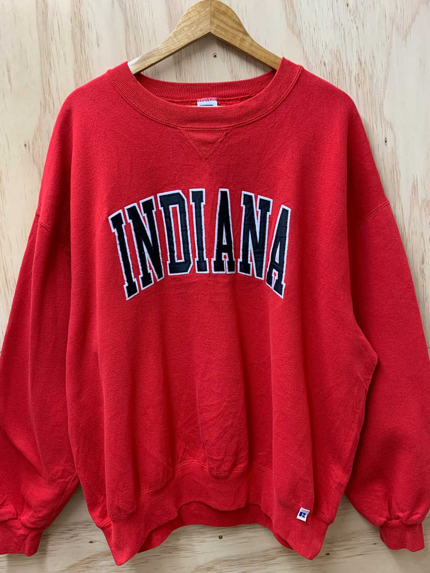 VINTAGE INDIANA SPELL OUT CREWNECK