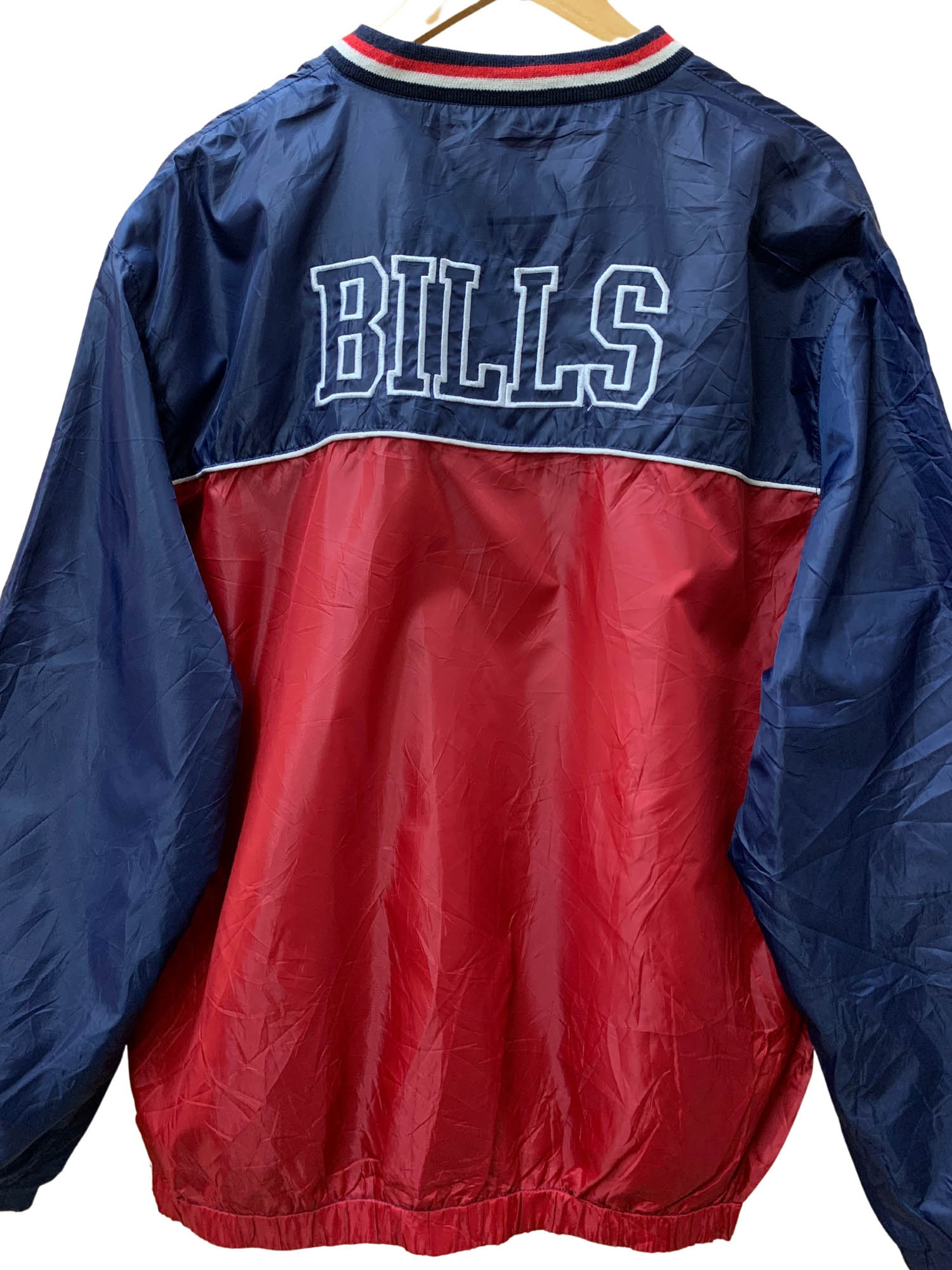 BUFFALO BILLS PULLOVER WINDBREAKER