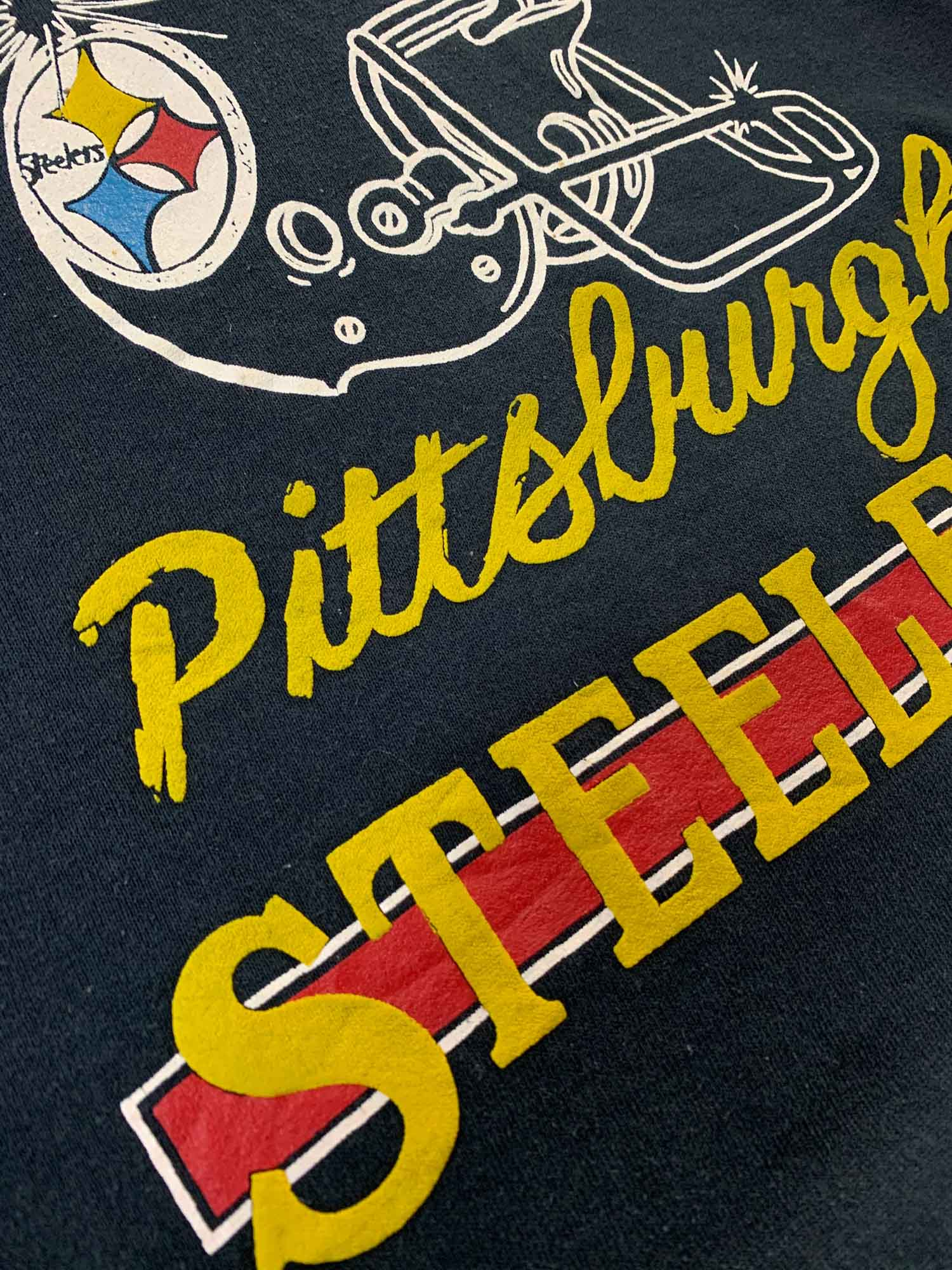VINTAGE pittsburgh Steelers crewneck