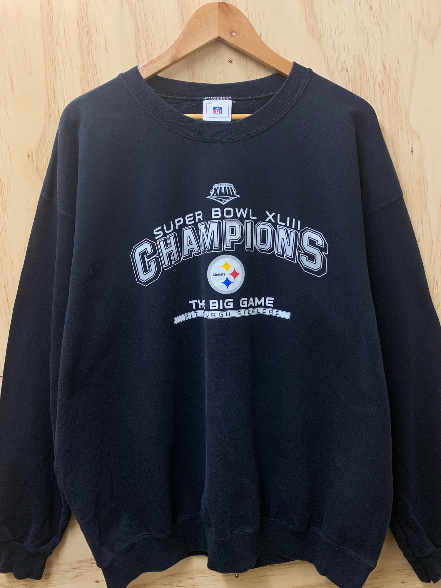 SUPERBOWL XLIII CREWNECK
