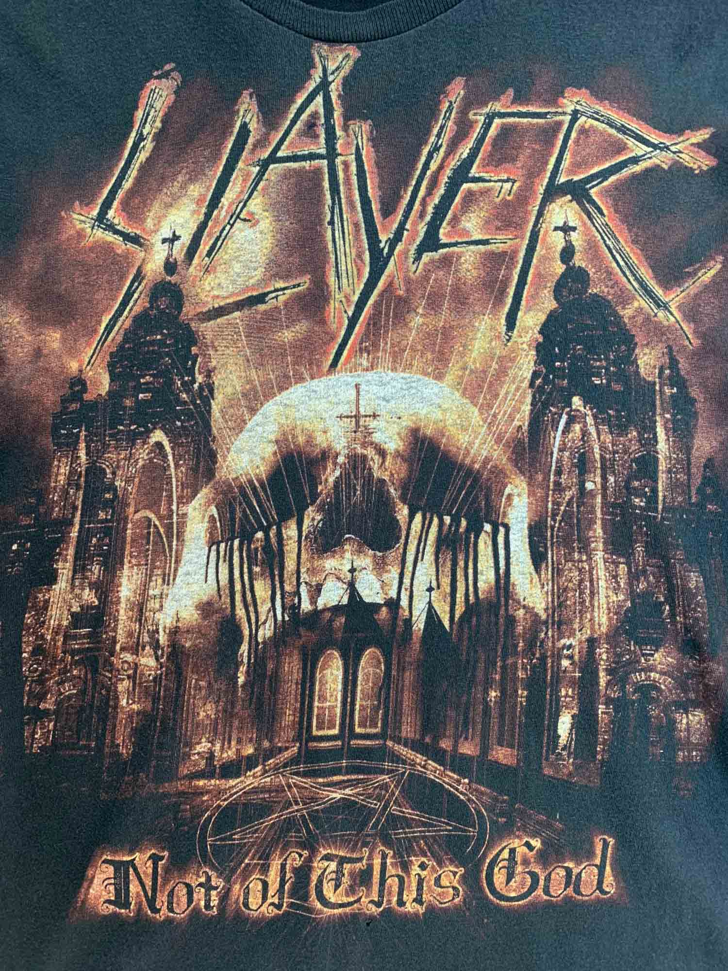VINTAGE SLAYER BAND TEE