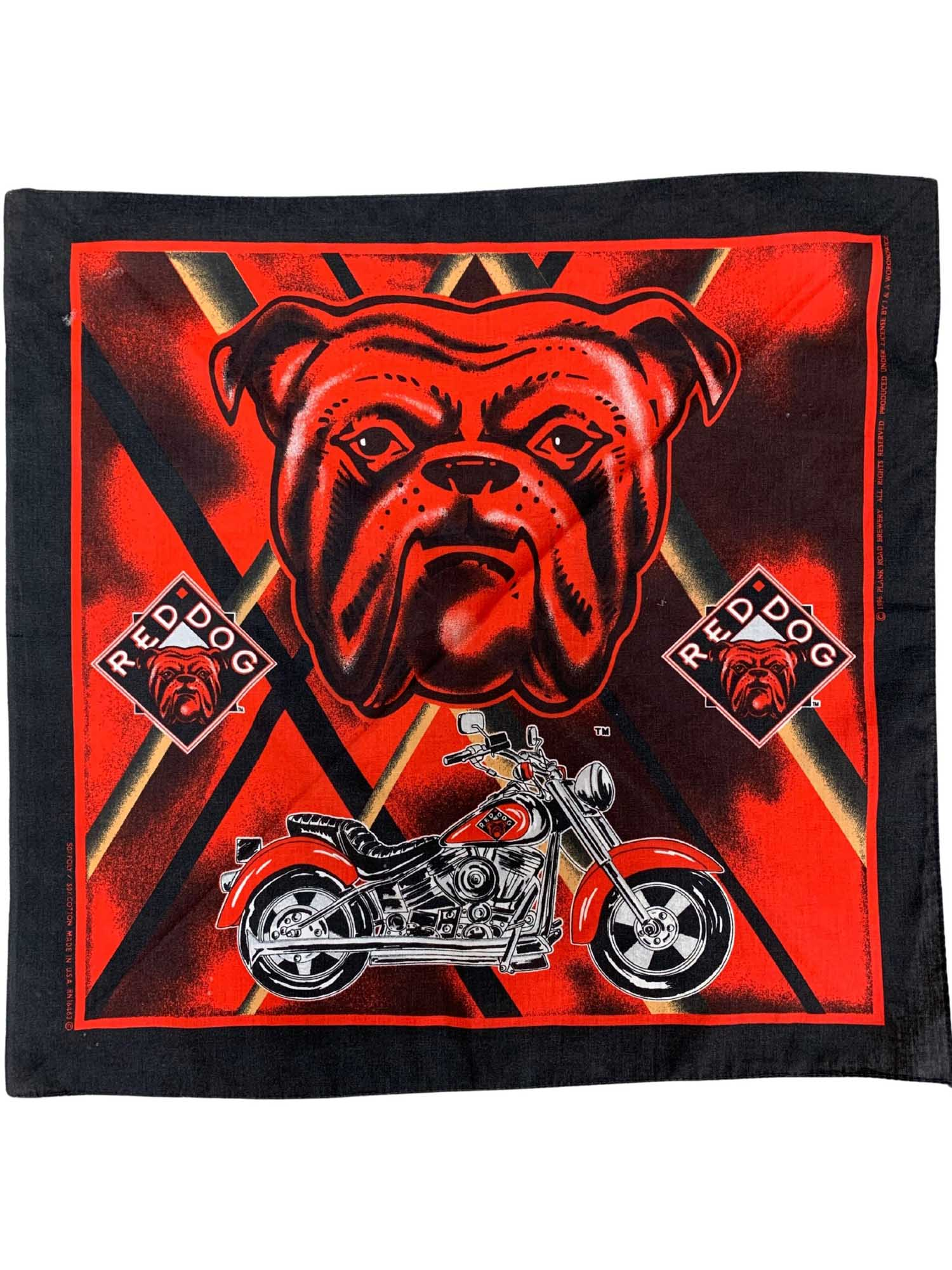 1996 RED DOG BANDANA