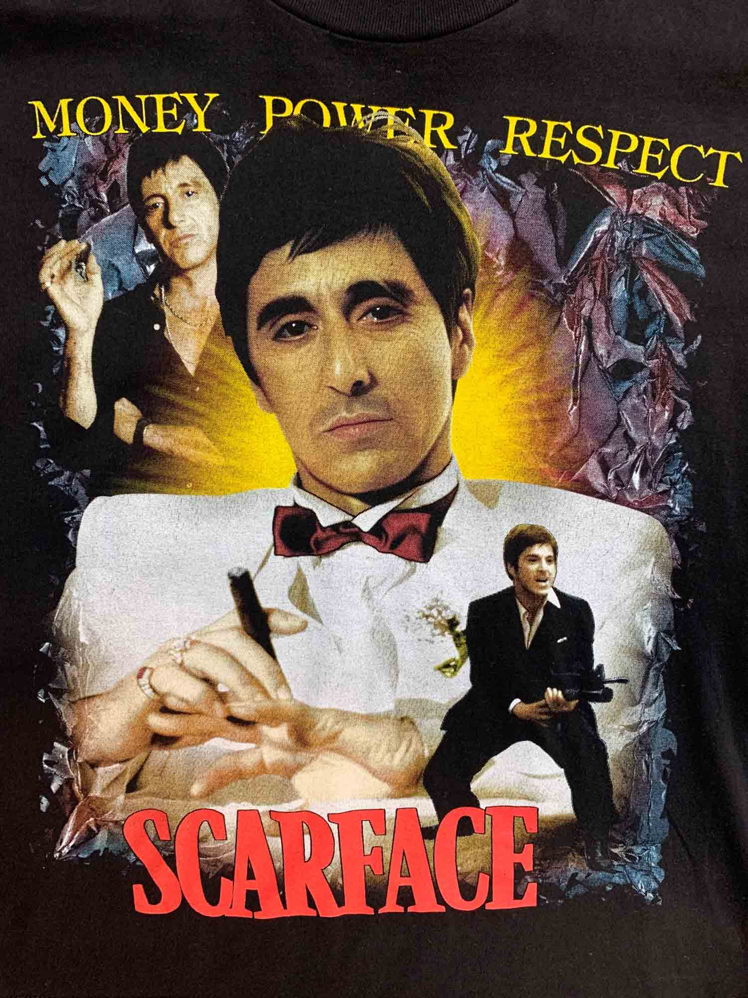 SCARFACE 'MONEY,POWER,RESPECT' TEE