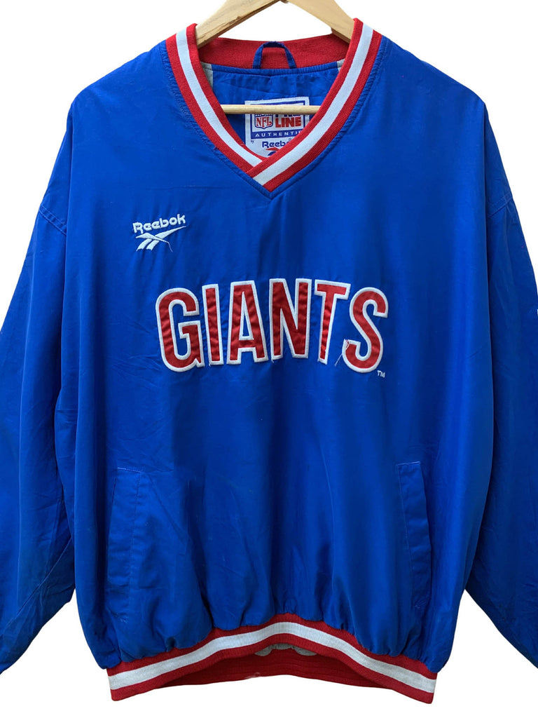 REEBOK GIANTS PULL OVER