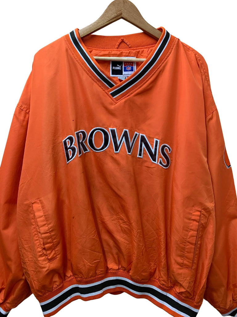 PUMA BROWNS PULLOVER WINDBREAKER