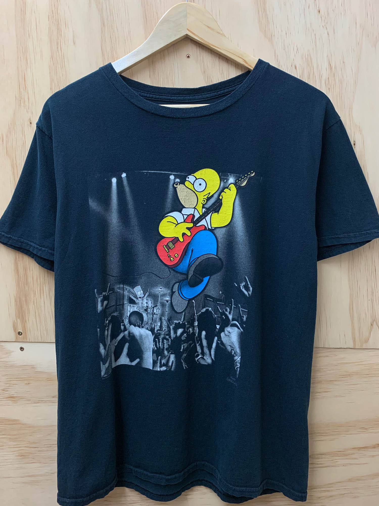 VINTAGE HOMER SIMPSON ROCK OUT TEE