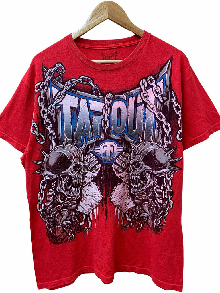 TAPOUT SKULL & CHAINS TEE