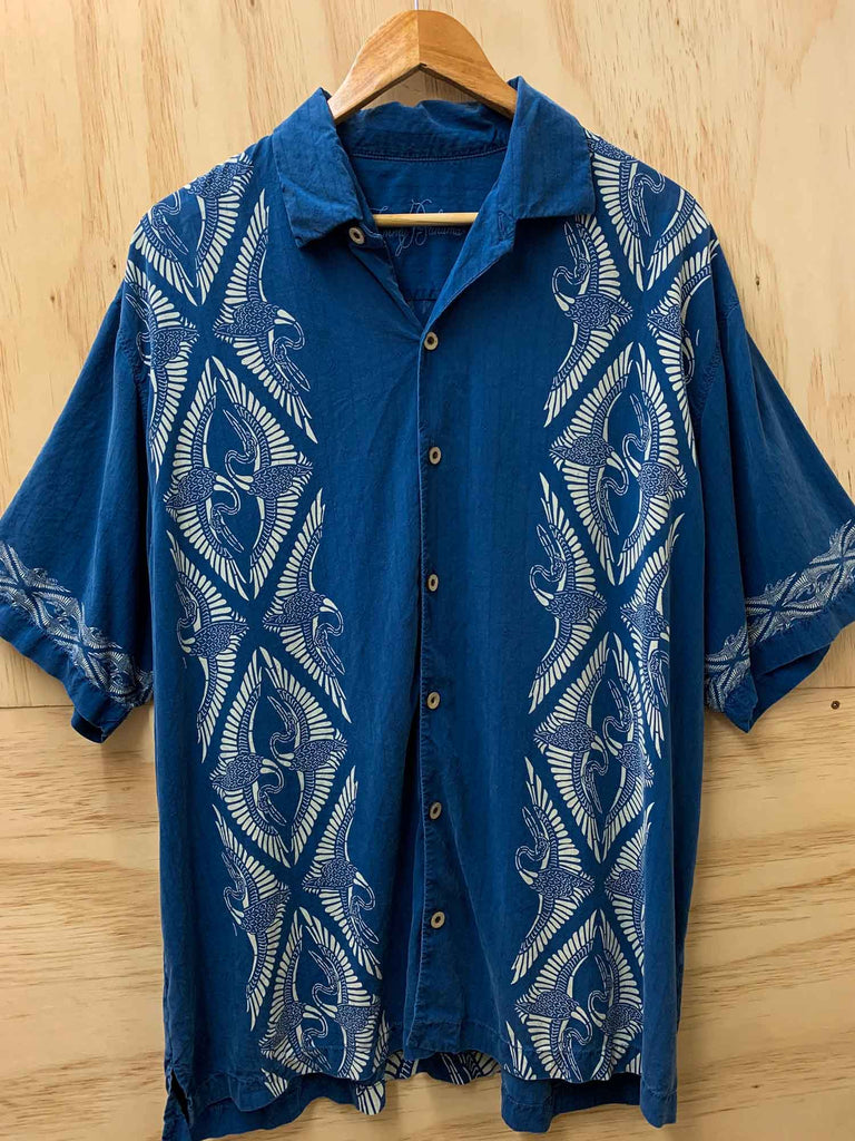 VINTAGE SILK RESORT SHIRT