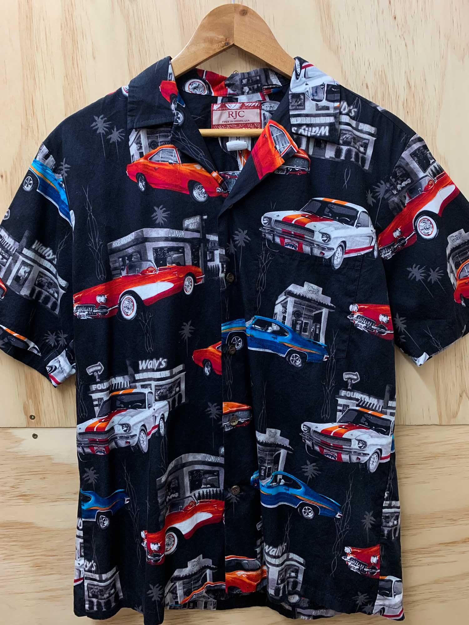 VINTAGE AMERICAN MUSCLE CAR SHIRT