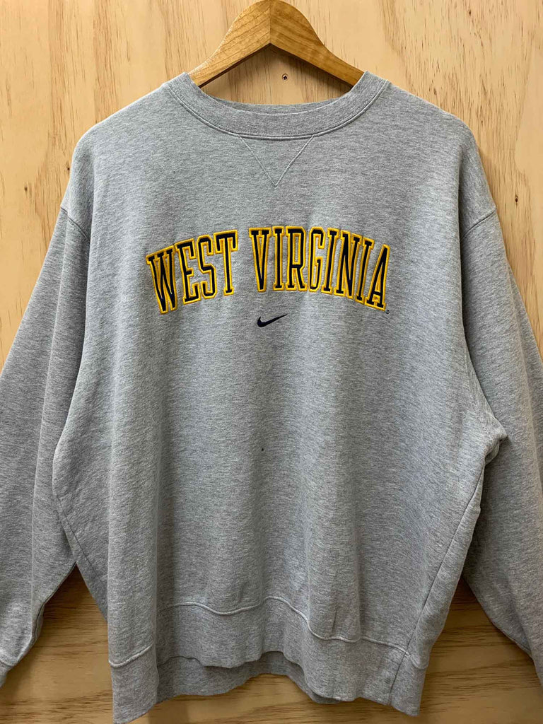 NIKE WEST VIRGINA CREWNECK