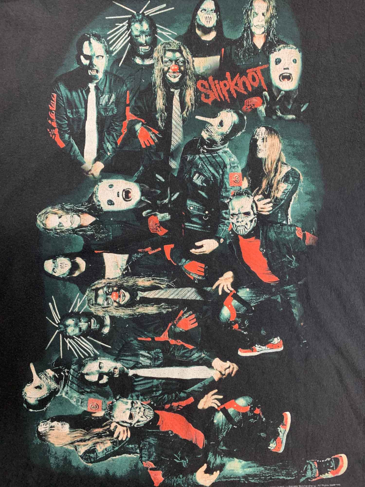VINTAGE SLIPKNOT ROCK TEE