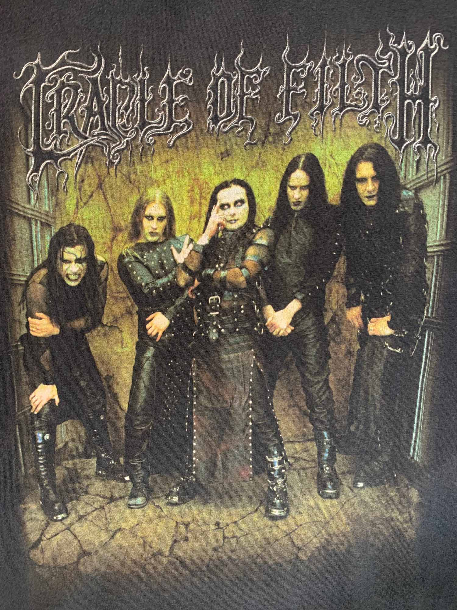 CRADLE OF FILTH BAND TEE