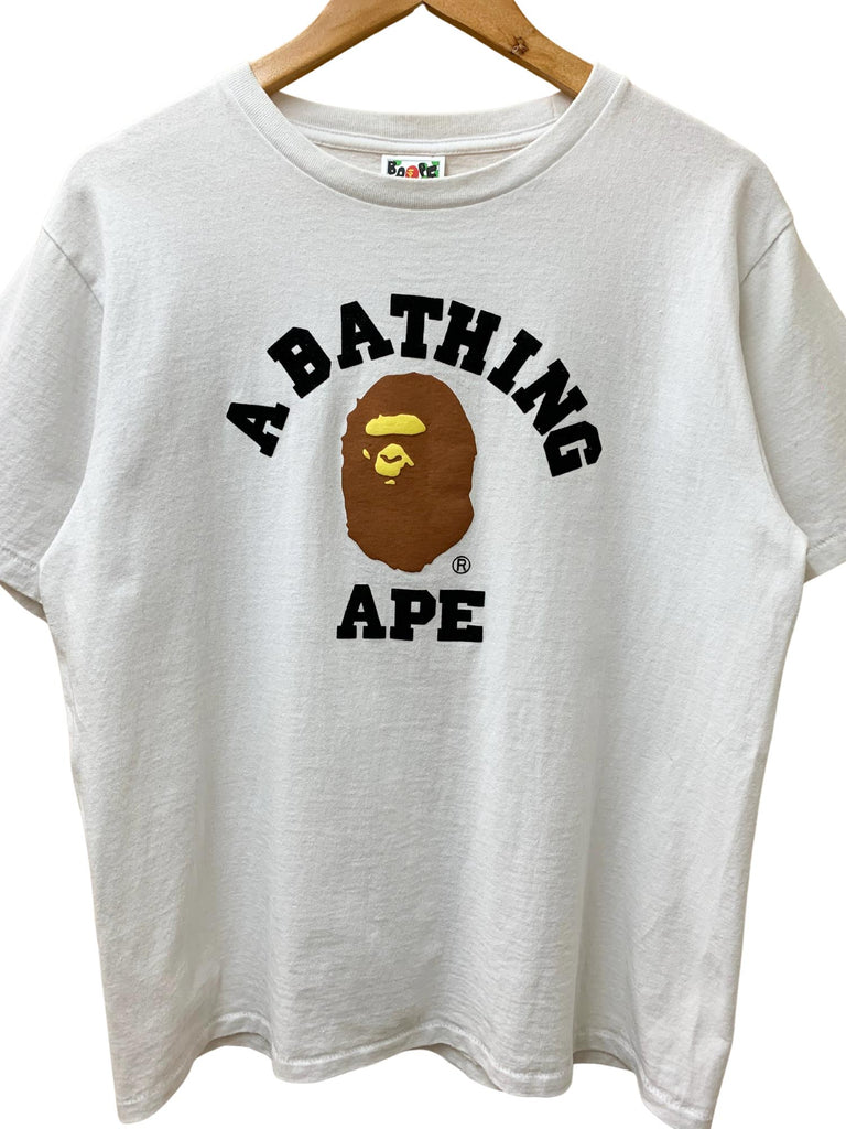A BATHING APE COLLAGE TEE
