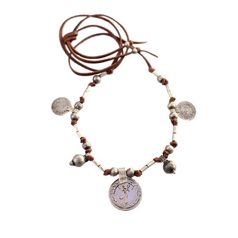 Pippy - Double Wrap Lariat Necklace