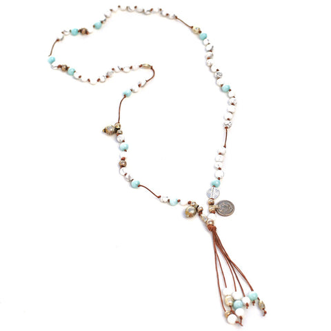 St Barts Necklace - Shell