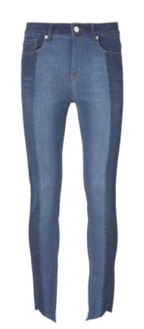 Diva Cropped Signature Wash Lissabon Jeans