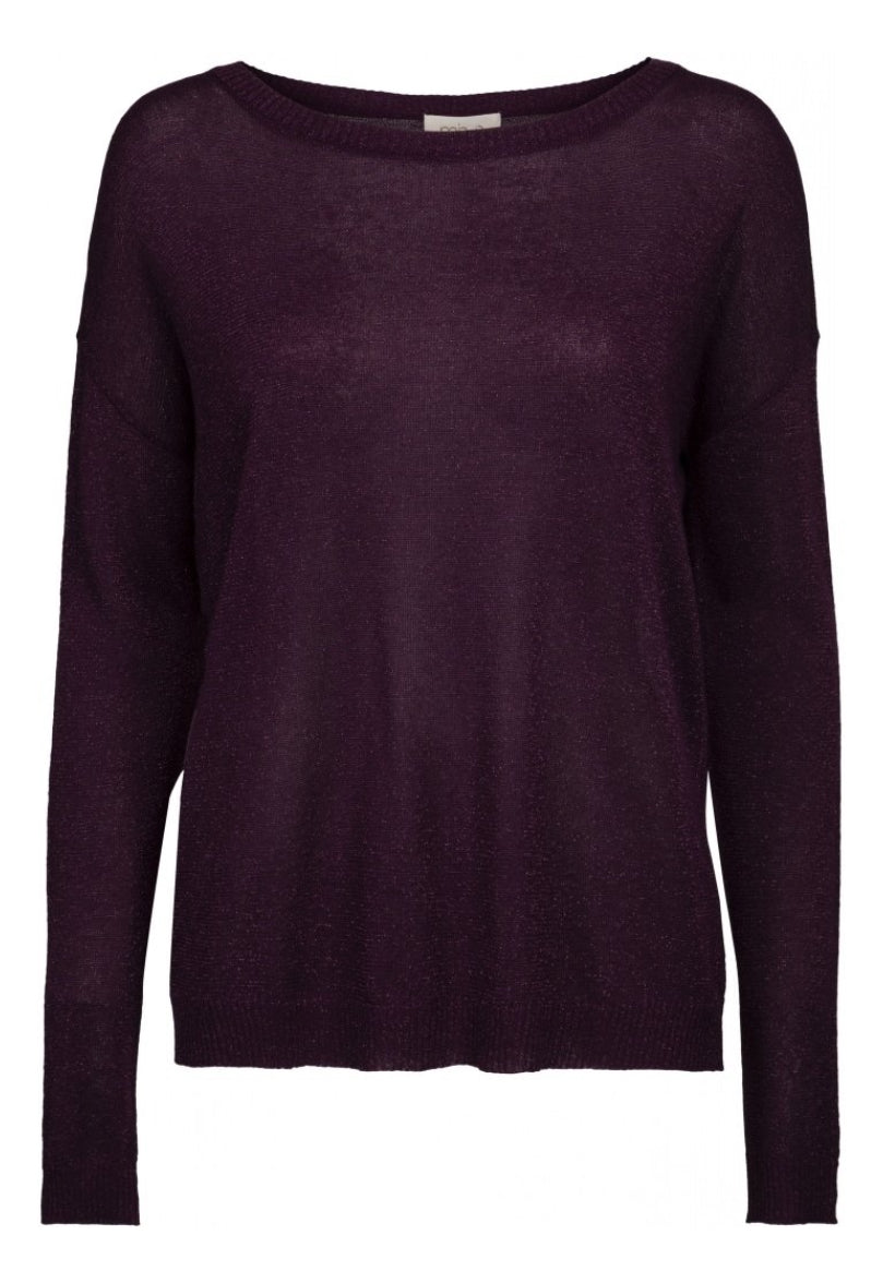 Elne Knit - purple