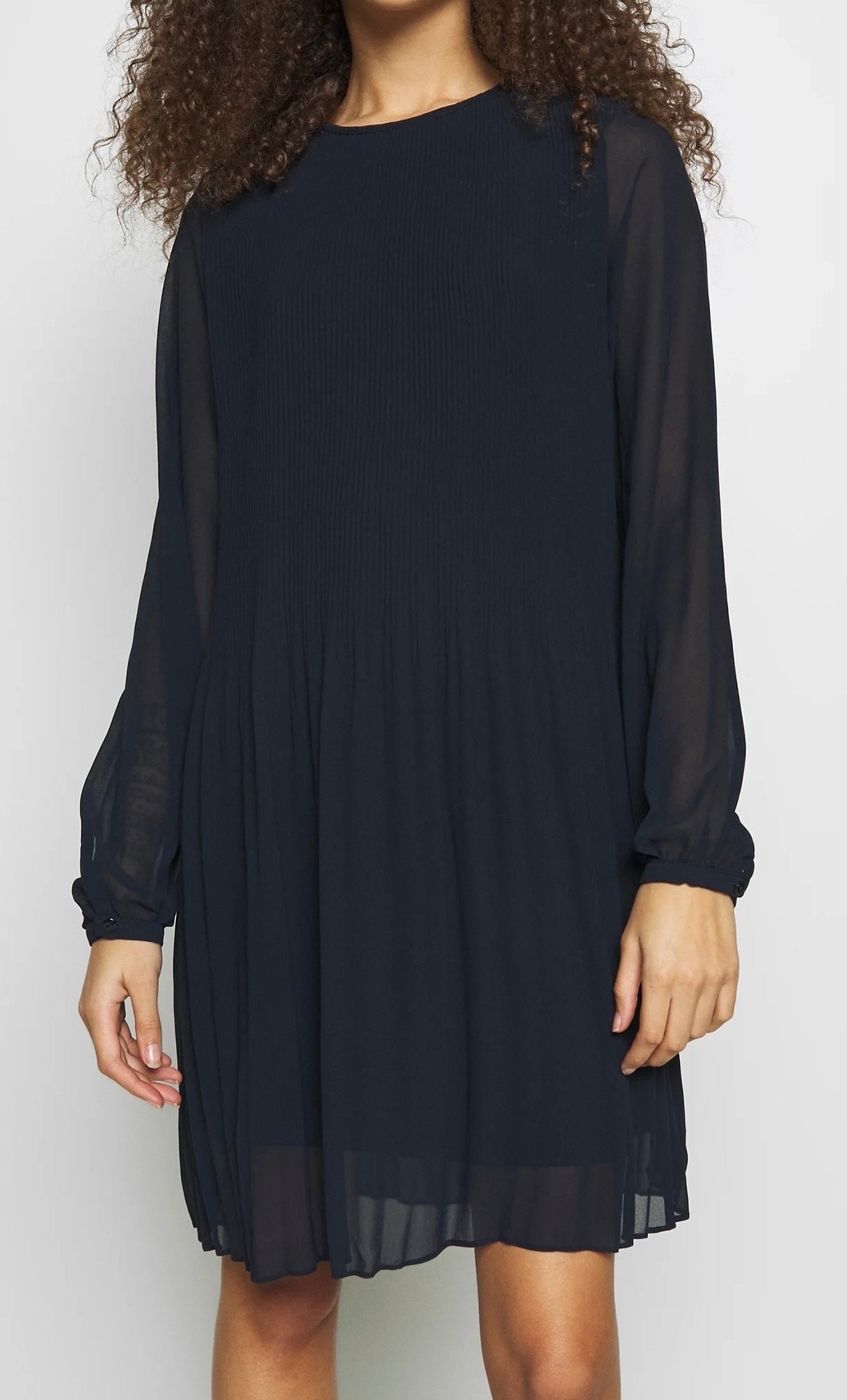 Vitoni l/s short dress fra Vila