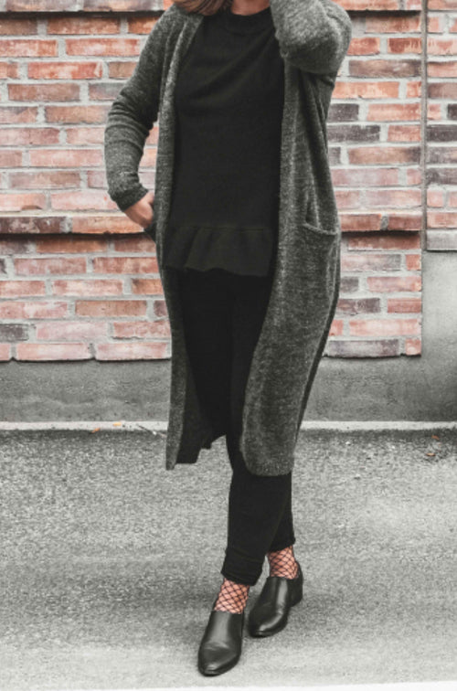 Riva Long Knit Cardigan