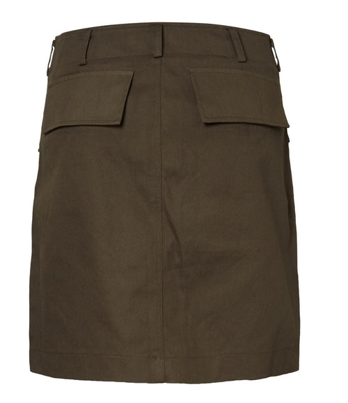 Mid-Rise mini skirt Beech