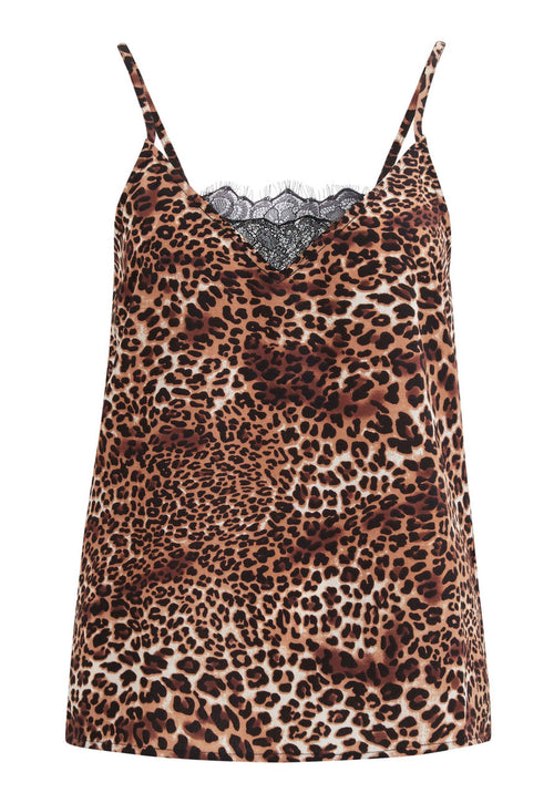 LEOPARD MØNSTERET TOP