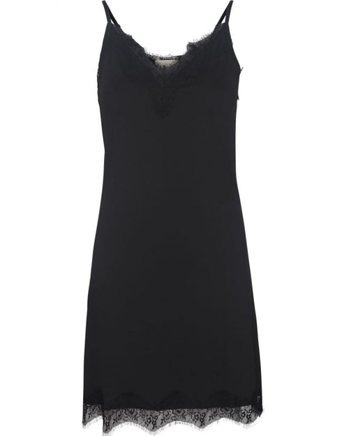 Asa Slipover Dress - sort